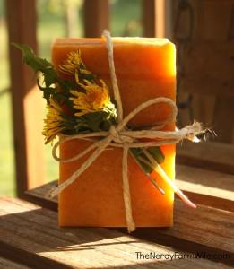 Handmade Honey and Dandelion Soap