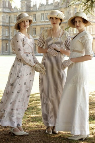 lady mary edith and sybil fashion