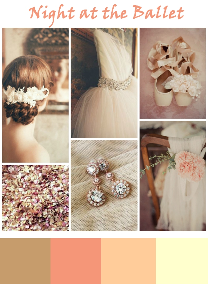 ballet pink wedding inspiration