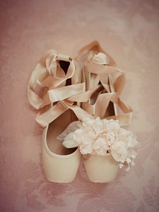 ballet wedding shoes editing