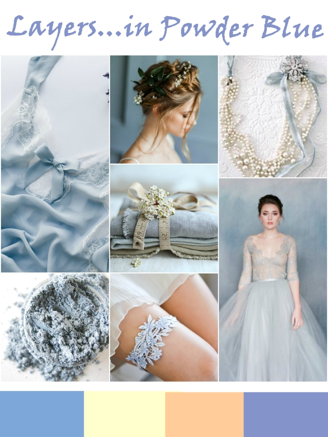 powder blue and cream wedding inspiration